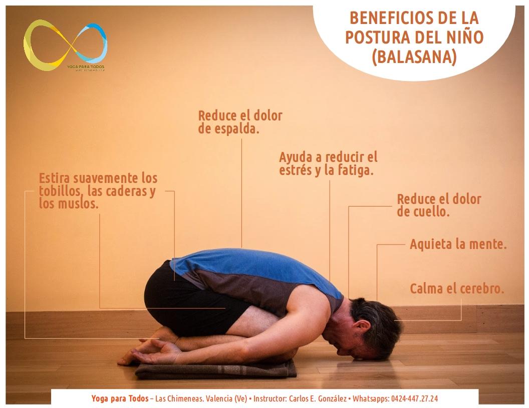 Balasana Beneficios
